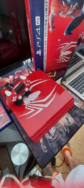 Ps4 Pro edición spiderman