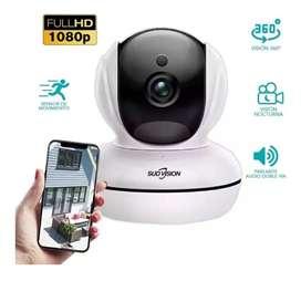 Camara Seguridad Ip Hd 1080p Wifi Motorizada + tarjeta microSD