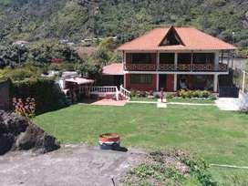 Vendo casa y suite en Baños de Agua Santa