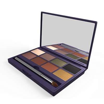 Paleta de sombras con tonos mate, tornasol y metálicos Yelena Seytu 0