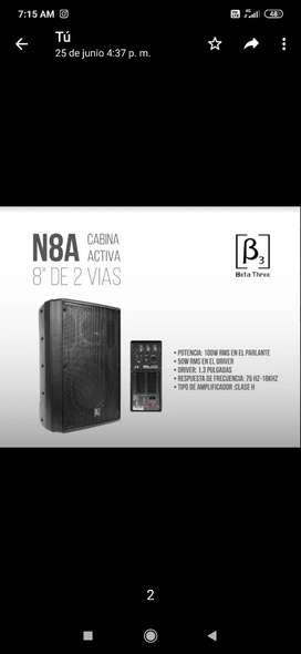 "Cabina de sonido beta 3 de  8 """