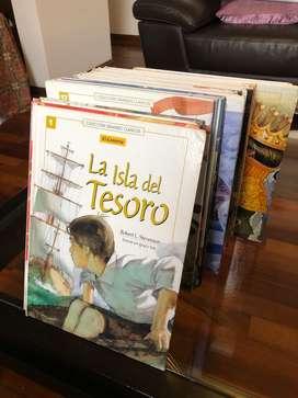 Coleccion Grandes Clásicos completa para niños de El Comercio