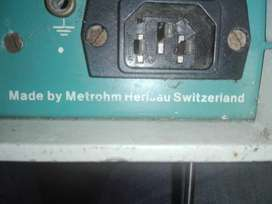Medidor Electroquímico Metrohm