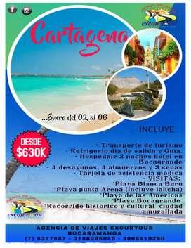 Tour Cartagena salida de Bucaramanga