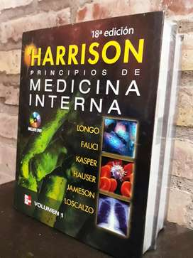 Harrison 18va Edición.medicina Interna NUEVO!