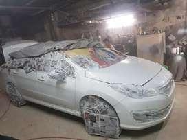 taller chapa y pintura, pulidos... autos, motos, etc