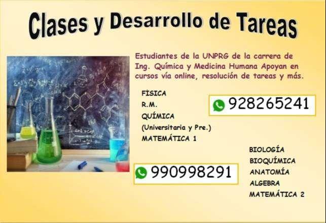 DESARROLLO DE TAREAS Y CLASES 0
