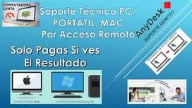 Soporte Técnico Por Acceso Remoto Reparación Windows Mantenimiento  Antivirus Impresoras Pc Lento