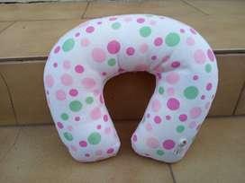 (CASEROS) Cuello cervical de viaje para nena rosa  ¡¡¡NUEVO!!