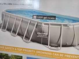 piscina estructural 5.3 × 2.77 x 122
