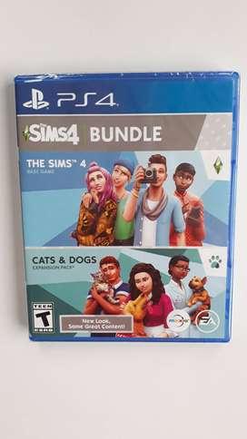 Los Sims 4 Bundle Juego Ps4 Nuevo Y Sellado