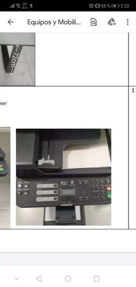 Impresora kyocera ecosys fs-1025 mfp con scaner