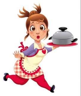 Se busca cocinera con experiencia