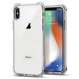 Funda Spigen Rugged Crystal Ligero Apple para iPhone X