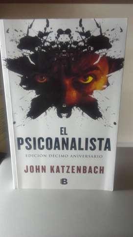 Libro El Psicoanalista - Novela policial - suspenso . John Katzenbach