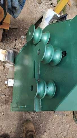 Dobladora,baroladora de tubo Manual