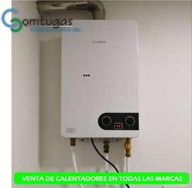 Calentadores a gas garantizados 100%