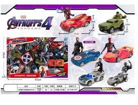 Set de vehículos 14 Marvel advenger