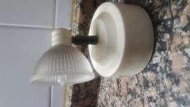 Lámpara Aplique 1 Luz Bipin Funcionando. Impecable Estado!