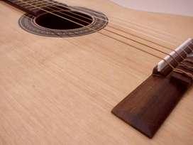 Guitarra Criolla Nueva- PERMUTO- Pino, Cedro, Nogal- calidad similar a Fonseca 25