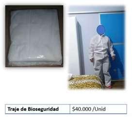 Traje de bioseguridad