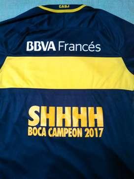 Camiseta Boca edición campeón 2017