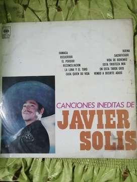 Disco de oro de Javier solis con 12 canciones INEDITAS NO PUBLICAS
