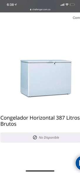 Congelador 378 Lt