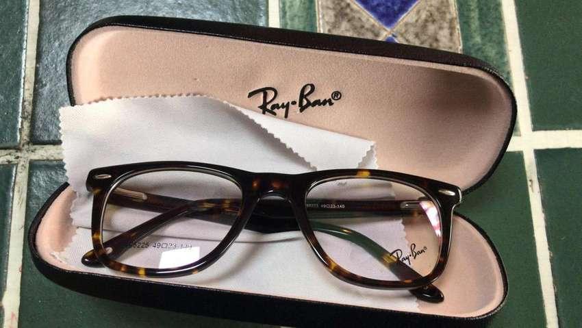 Gafas De Vista Montura Oftalmica Rayban Tipo Wayfarer Carey Promo! 0
