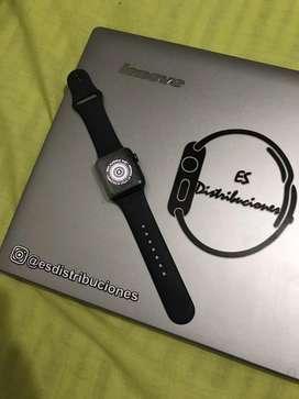 Apple watch serie 3 38mm negro en caja
