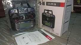 Control Remoto Drone Avion Flysky I6 + Receptor 6 Ch 2.4 Ghz