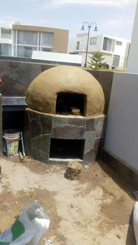 Trabajos Horno Piedra Cascadas