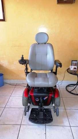 Silla de ruedas eléctrica, baterias recargables jet 3