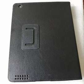 Estuches Folio Leather Case IPad 2, 3, 4. Color: Negro.