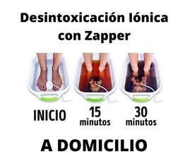 Desintoxicación Iónica con Zapper