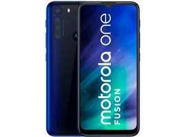 Celular Motorola One Fusion 4 Camaras Bateria 5000 4 Ram 64g