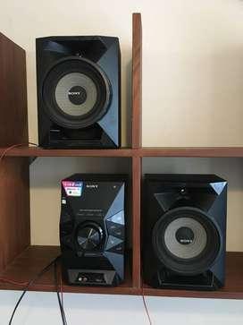 equipo de musica sony 5170W usado