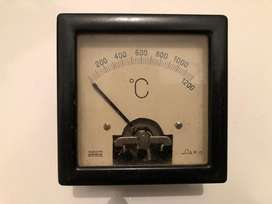 Termometro Industrial 1200 Grados Frances Antiguo
