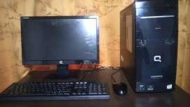 Vendo computador de escritorio compaq presario