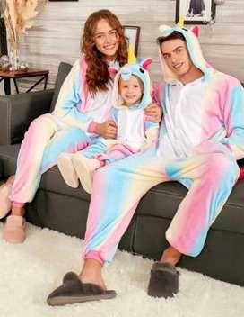 kigurumi o pijama térmica para toda la familia