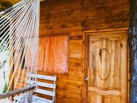 arriendo linda cabaña en medio de la naturaleza cerca al centro de Otavalo