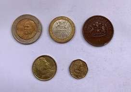 Chile lote de monedas