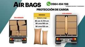AIR BAGS PROTECCION DE CARGA CONTENEDORES CARTON FUNDAS DE AIRE SACOS EMBALAJE