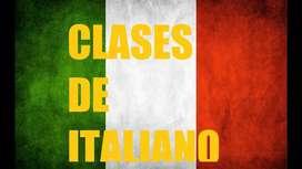 CLASES VIRTUALES DE ITALIANO (NATIVA)