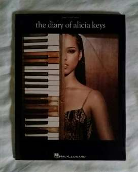 Partituras guitarra piano alicia keys the diary of alicia keys