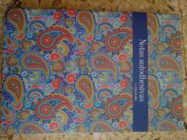 Libreta de notas adhesivas, mini notas con cuadro, y libreta de notas básica
