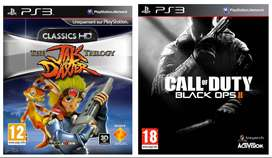 Combo Call of duty Black ops 2 , Jack And Daxter Triology