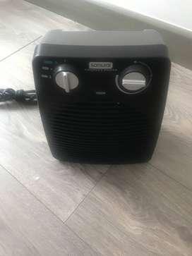 Calefactor en perfectas condiciones (menos de 5 meses de uso)