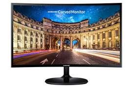"""Nuevo Monitor Curvo Led Samsung 24"""" CF390 Hdmi Fullhd Garantia 3 Años"""