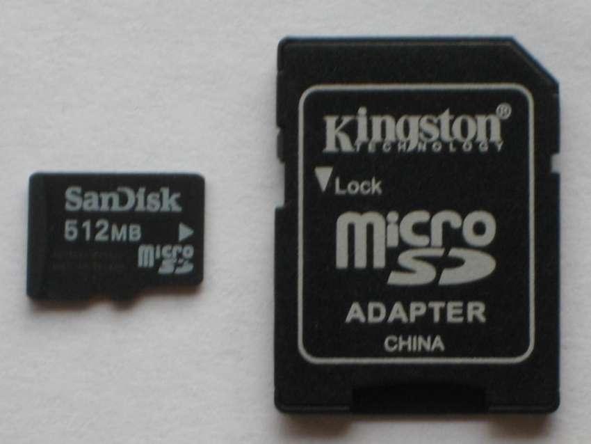Memoria Micro Sd 512mb